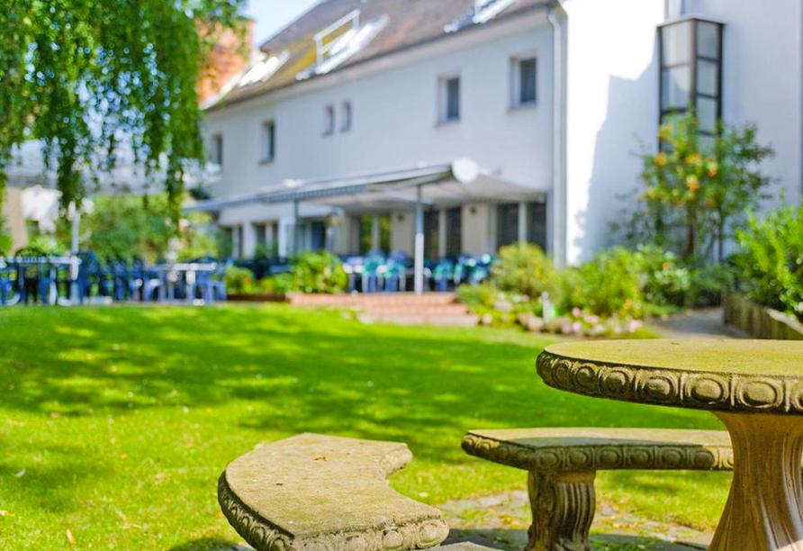 Hotel Luther Birke Wittenburg, Garten