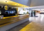 Hotel Solny in Kolberg, Rezeption