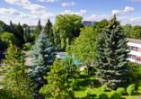Hotel Solny in Kolberg, Garten