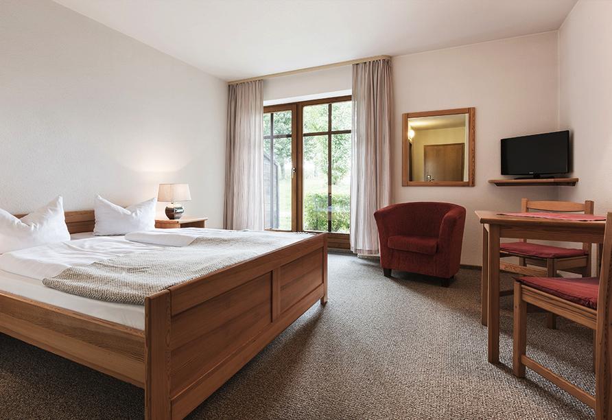 Landhotel Rosenberger in Wegscheid im Bayerischen Wald, Zimmerbeispiel