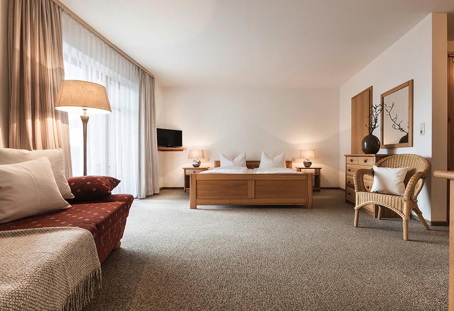 Landhotel Rosenberger in Wegscheid im Bayerischen Wald, Beispiel Studio