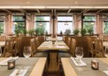 Landhotel Rosenberger in Wegscheid im Bayerischen Wald, Restaurant
