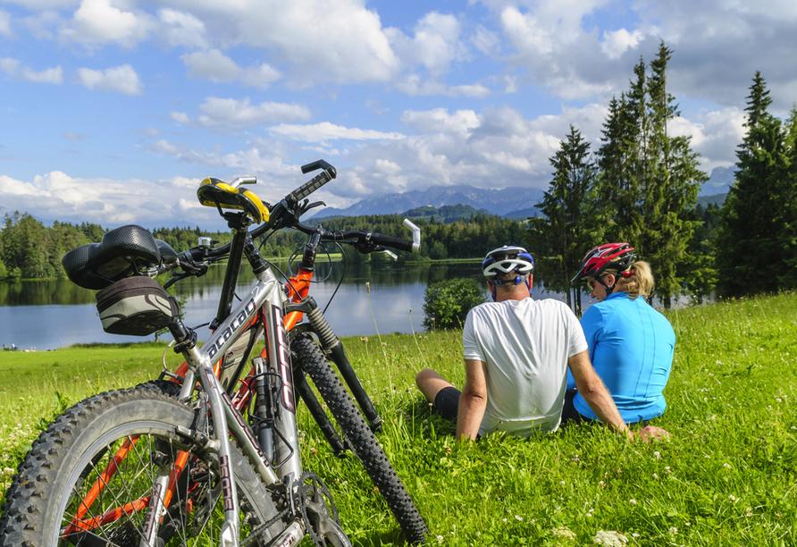 Landhotel Rosenberger in Wegscheid im Bayerischen Wald, Fahrradtour