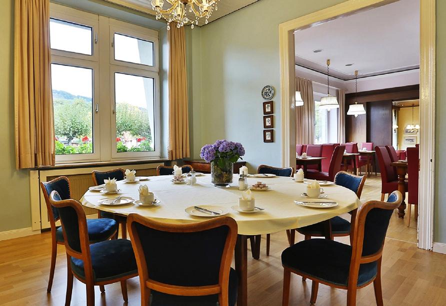 Hotel Krone in Bingen am Rhein, Frühstücksraum