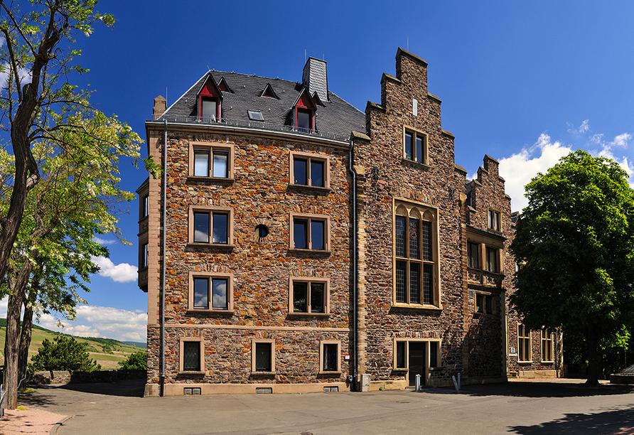 Hotel Krone in Bingen am Rhein, Burg Klopp