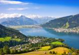 Hotel Ferienwelt Kristall in Rauris im Salzburger Land, Ausflugsziel Zell am See