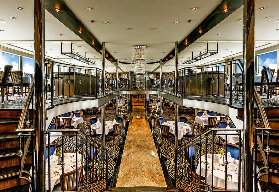 MS Amelia, Restaurant