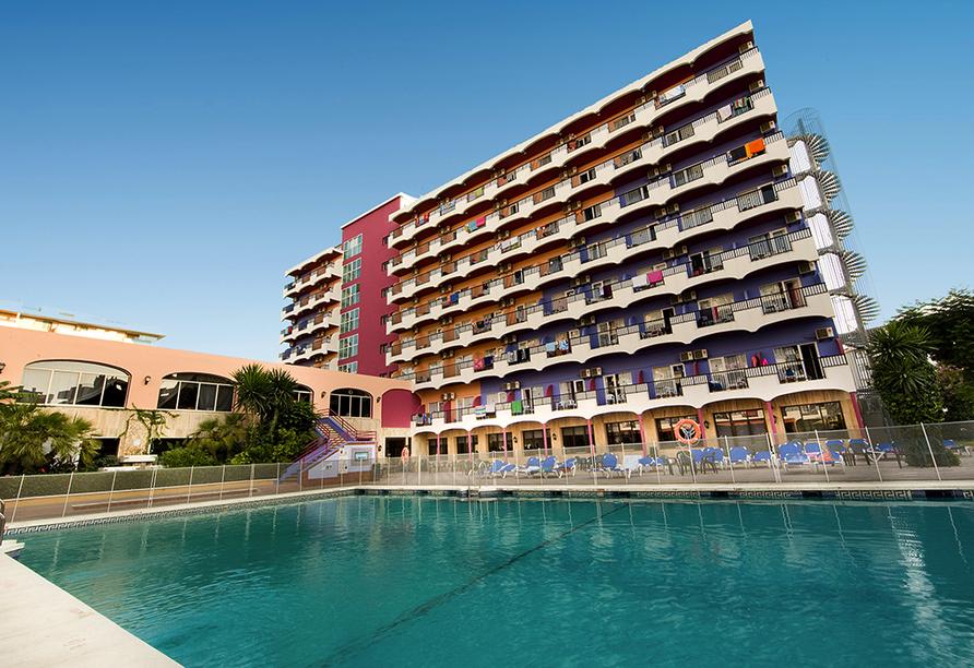Hotel Monarque Fuengirola Park in Andalusien, Außenpool
