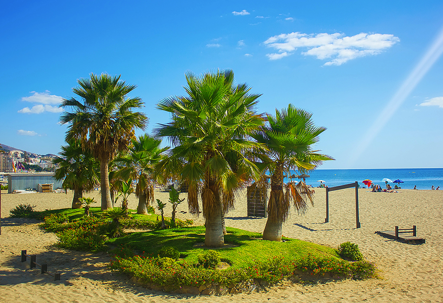 Hotel Fuengirola Park in Andalusien, Strand