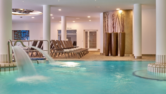 MAXIMILIAN Quellness- und Golfhotel in Bad Griesbach, Wellnessbereich