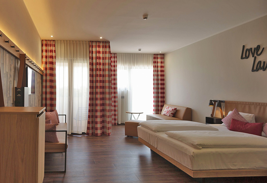 Mjus World Resort & Thermal Park, Zimmerbeispiel
