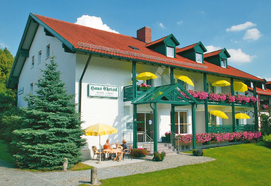 Hotel Haus Christl in Bad Griesbach, Außenansicht
