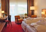 Hotel Haus Christl in Bad Griesbach, Beispiel Doppelzimmer Balkon