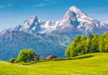 Das Bergmayr - Chiemgauer Alpenhotel, Landschaft