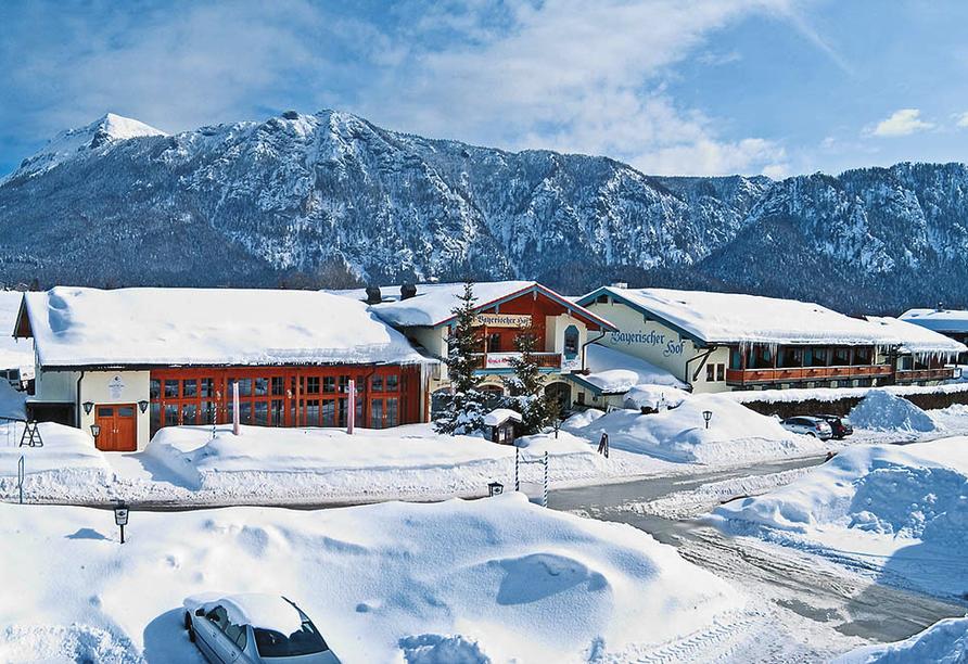 Das Bergmayr - Chiemgauer Alpenhotel, Winter