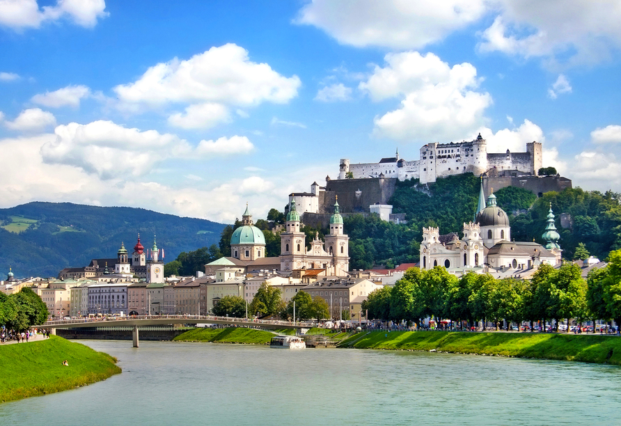 Das Bergmayr - Chiemgauer Alpenhotel, Ausflugsziel Salzburg