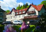 Waldhotel Friedrichroda, Außenansicht