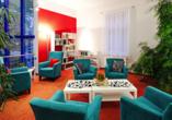 Ringhotel VITALHOTEL ambiente Bad Wilsnack in Brandenburg, Leseecke