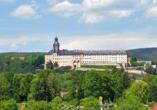 Panoramahotel am Marienturm in Rudolstadt im Thüringer Wald, Ausflugsziel Residenzschloss Heidecksburg