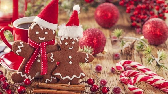 Waldhotel Soodener Hof, Weihnachten Lebkuchenpaar