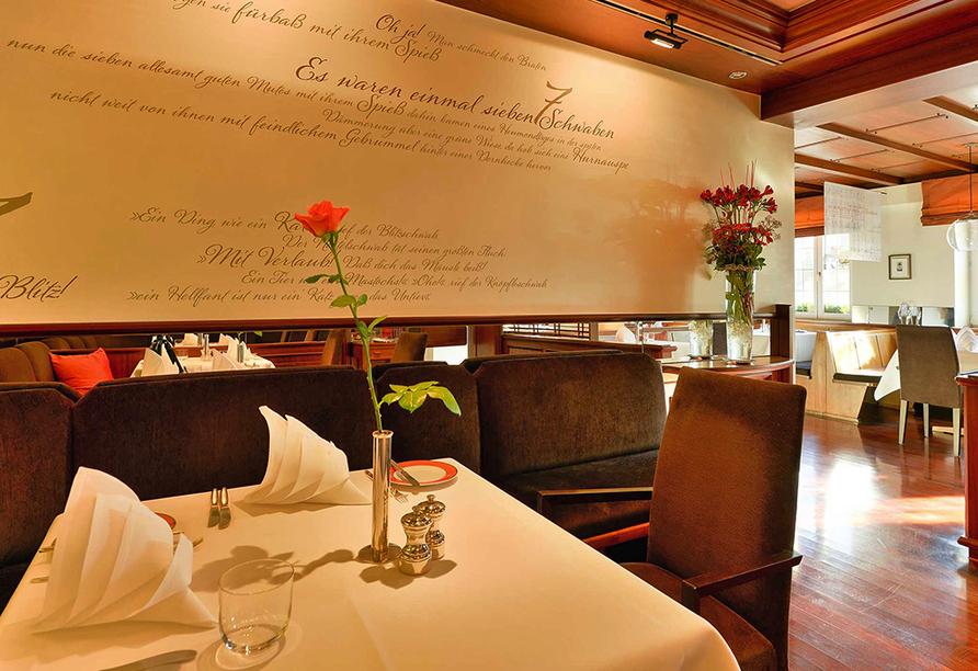 Ringhotel Adler Asperg, Restaurant Schwabenstube