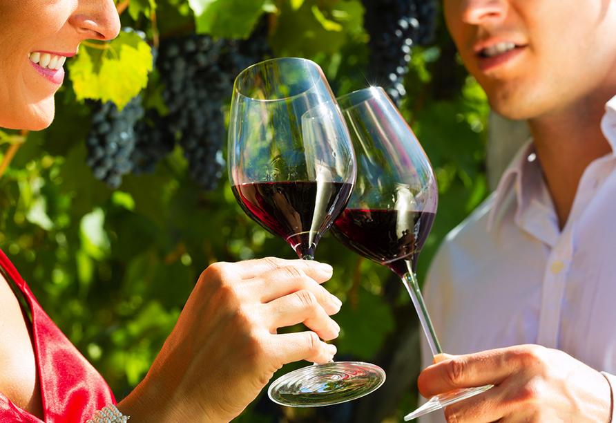 Ringhotel Adler Asperg, Wein