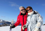 Hotel Stella delle Alpi in Ronzone in Südtirol Skifahrer