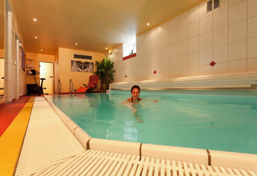 AKZENT Hotel Goldner Stern in Muggendorf, Wellnessbereich