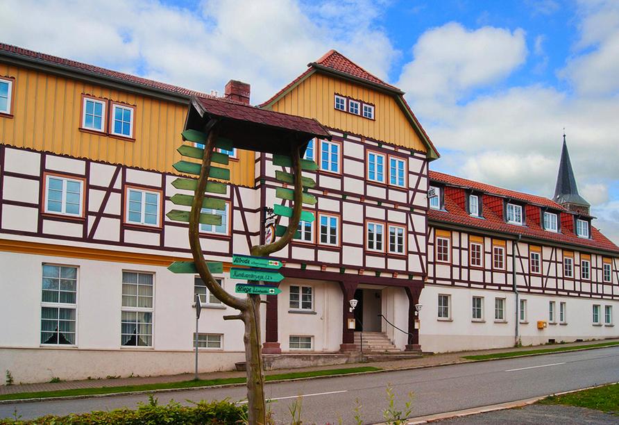 Harzhotel Güntersberge, Außenansicht
