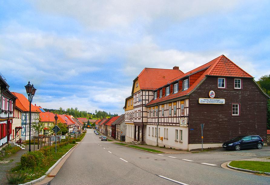 Harzhotel Güntersberge, Güntersberge