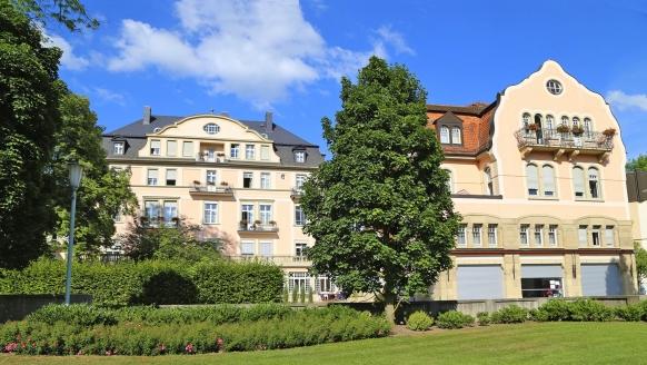 Hotel Villa Thea Bad Kissingen, Außenansicht