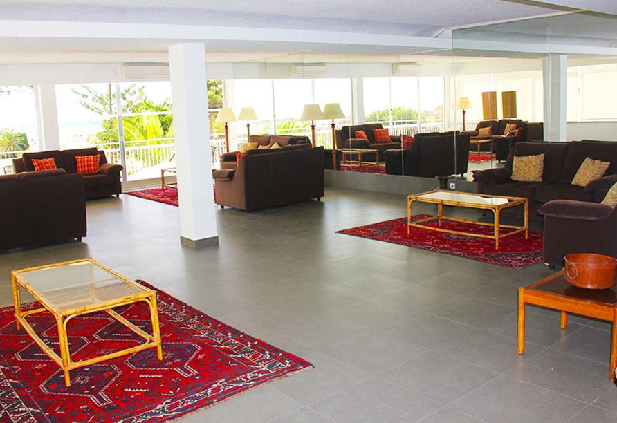 Hotel Vasco da Gama in Monte Gordo, Lobby