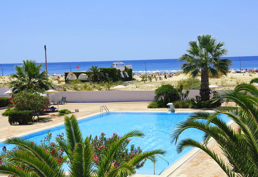 Hotel Vasco da Gama in Monte Gordo, Außenpool