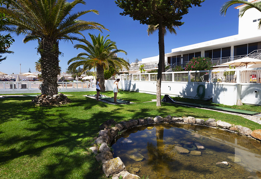 Hotel Vasco da Gama in Monte Gordo, Minigolf