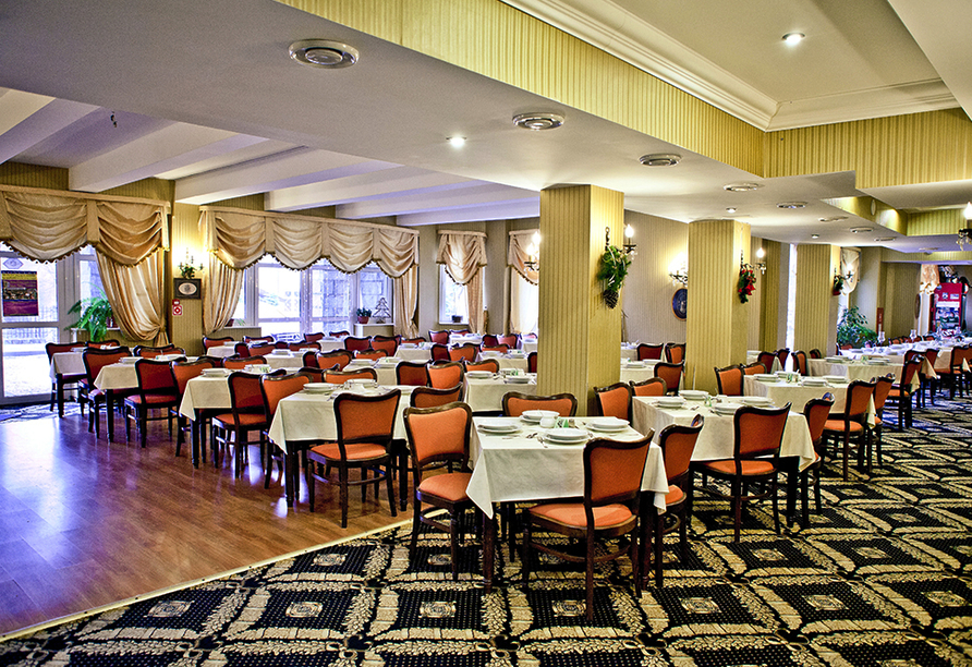 St. Lukas Sanatorium Hotel in Bad Flinsberg, Restaurant