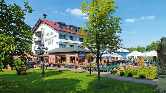 Best Western Hotel Brunnenhof in Weibersbrunn, Außenansicht