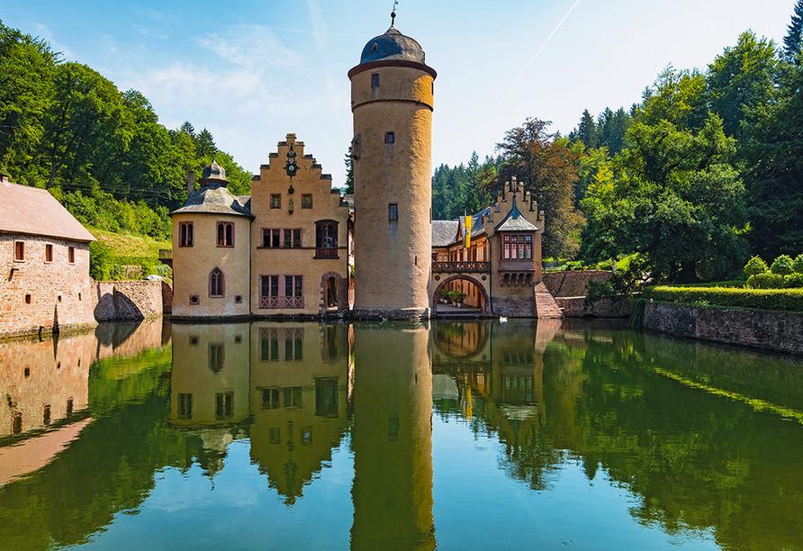 Best Western Hotel Brunnenhof in Weibersbrunn, Schloss Mespelbrunn