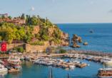 Entdeckerreise durch Kappadokien, Antalya Hafen