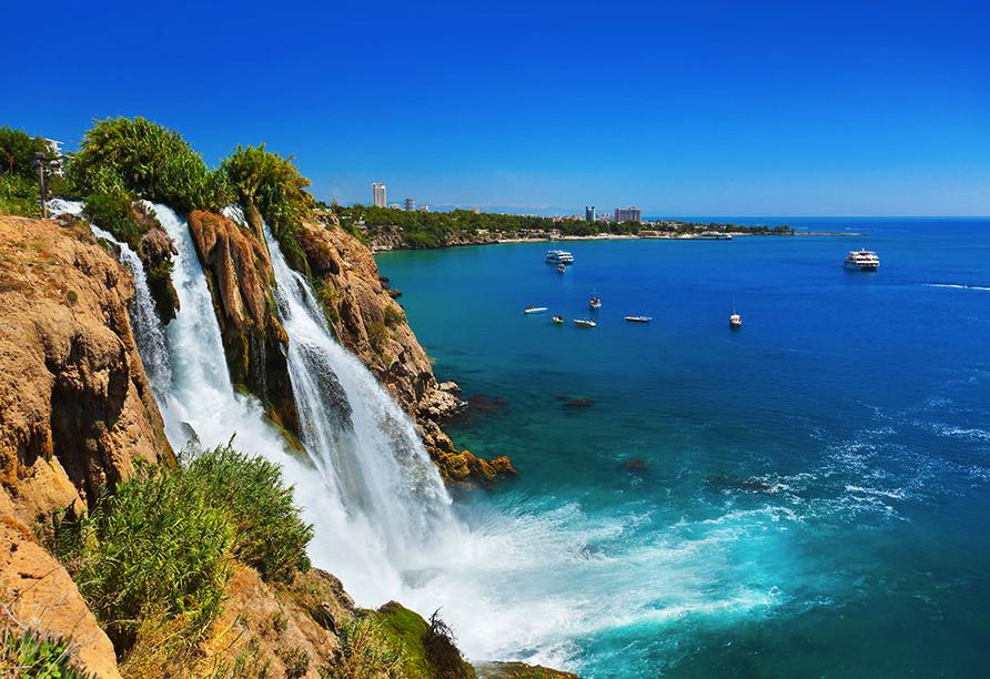 Entdeckerreise durch Kappadokien, Düden-Wasserfall