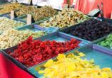 Auf dem Bauernmarkt in Sineu finden Sie alles, was das Herz begehrt.