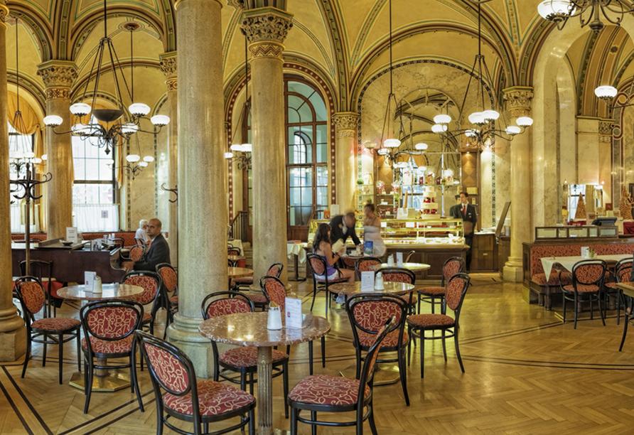 Loenardo Hotel Vienna, Typisches Wiener Kaffeehaus