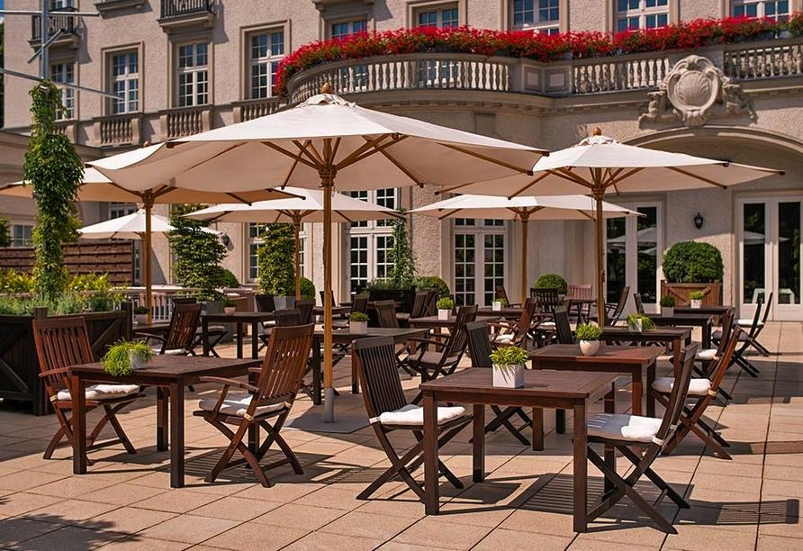 Parkhotel Quellenhof Aachen, Terrasse
