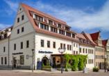 Hotel Gasthaus Zum Schwan in Oschatz in Sachsen Außenansicht