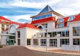 Hotel Grand Lubicz, Stolpmünde, Polen, Außenansicht