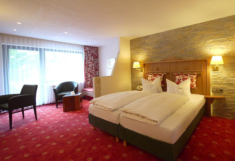 Flair Hotel Sonnenhof in Baiersbronn im Schwarzwald, Doppelzimmer Superior