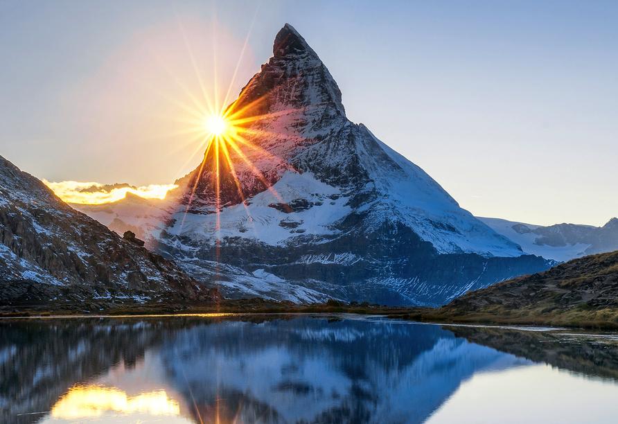 Hotel Holiday, Zermatt, Schweiz, Matterhorn