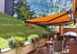 Hotel Holiday, Zermatt, Schweiz, Terrasse