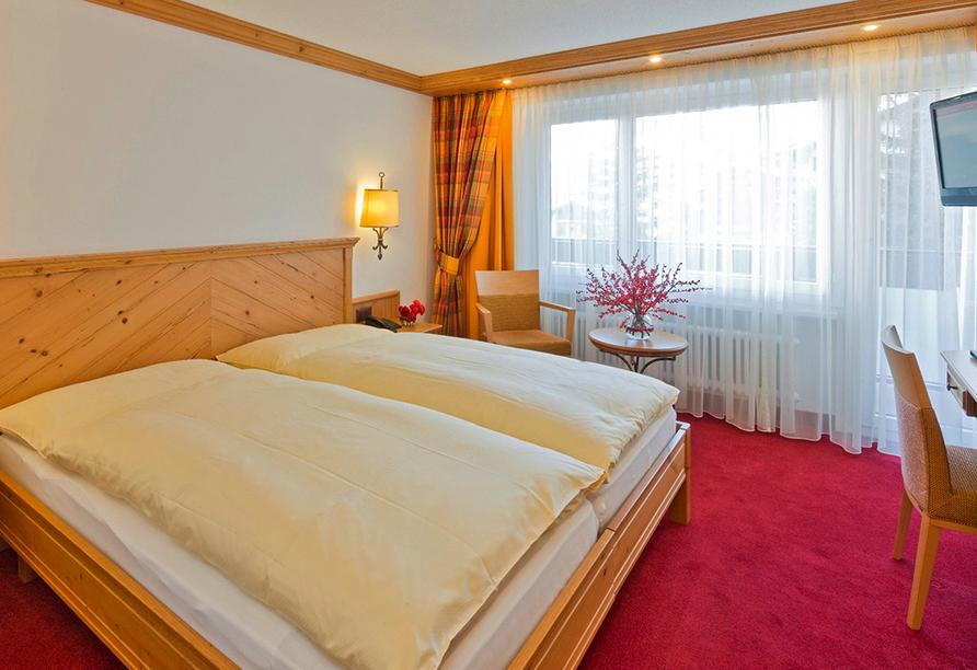 Hotel Holiday, Zermatt, Schweiz, Zimmer