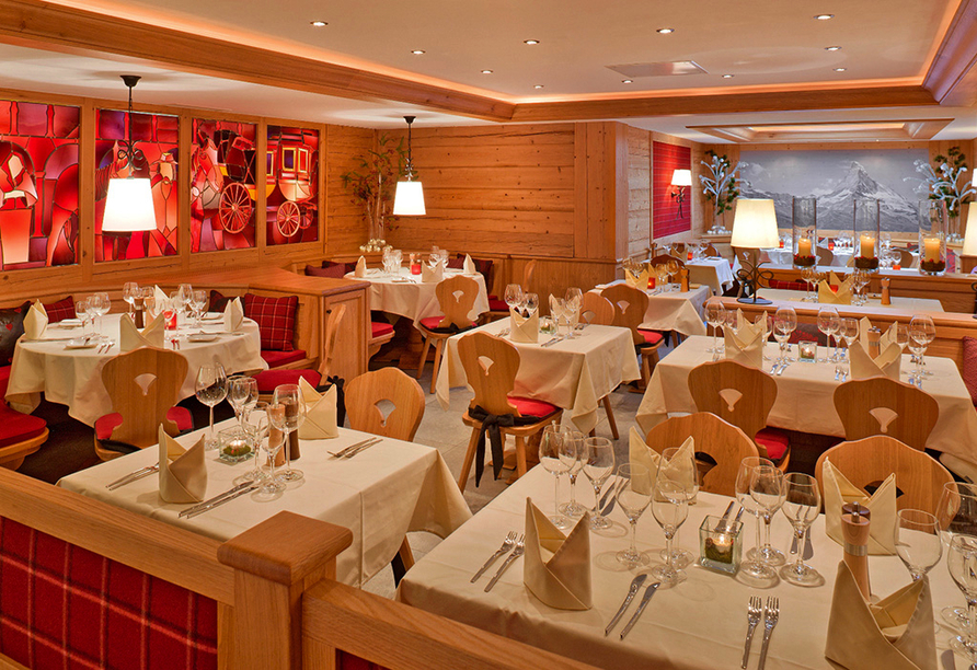 Hotel Holiday, Zermatt, Schweiz, Restaurant