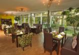 Restaurant im PRIMA Hotel Schloss Rockenhausen.